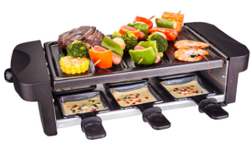 6 Persons Raclette Grill