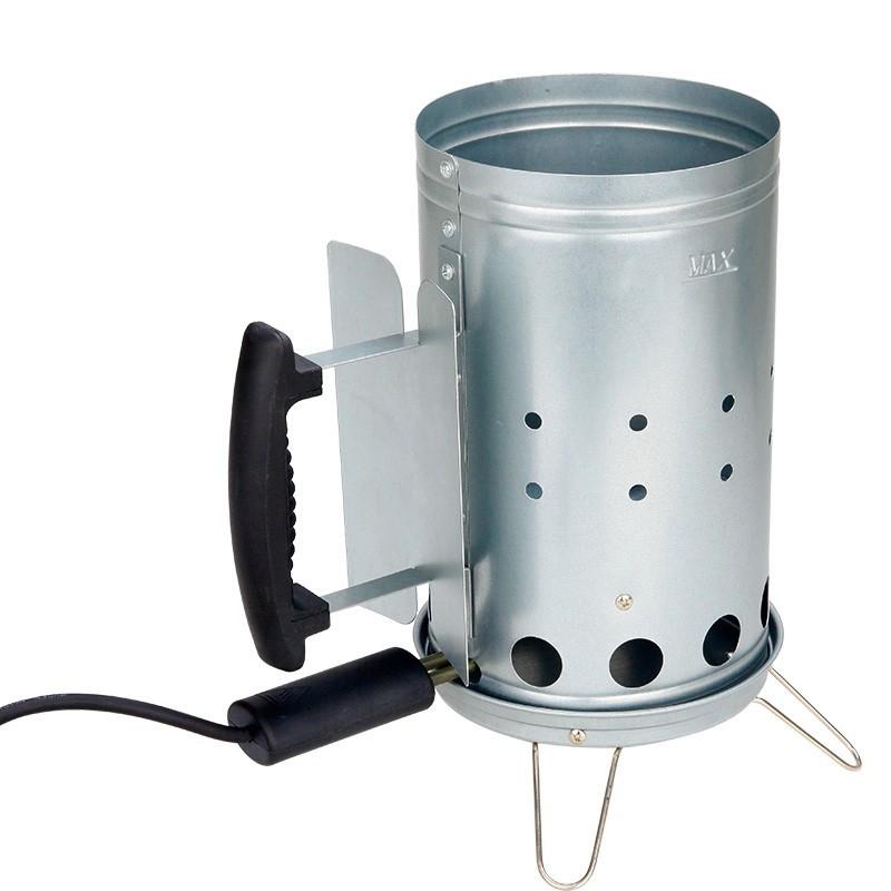 Electric Charcoal Fire Lighter Basket, BBQ Chimney starter