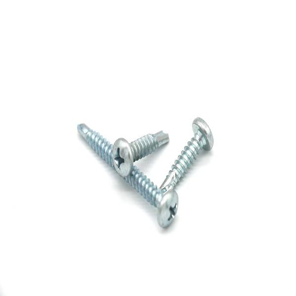 Phillips de cabeza plana tornillos autoperforantes