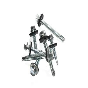 Hex Washer Head Self Drilling Screws With EPDM