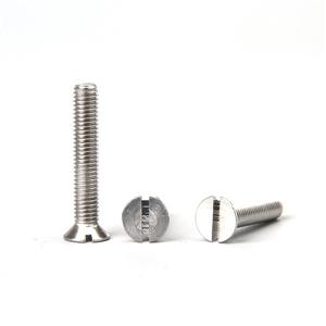 Slotted Countersunk Head Screws