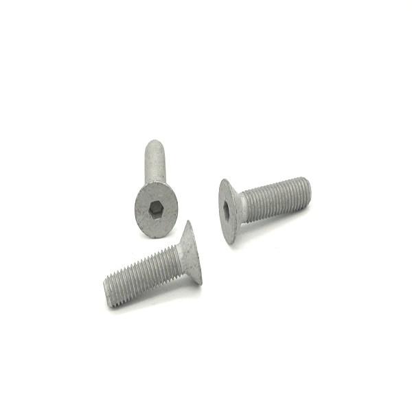 countersunk flat head screw