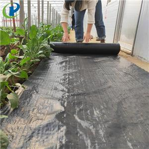 Biodegradable Preen Using Landscape Fabric