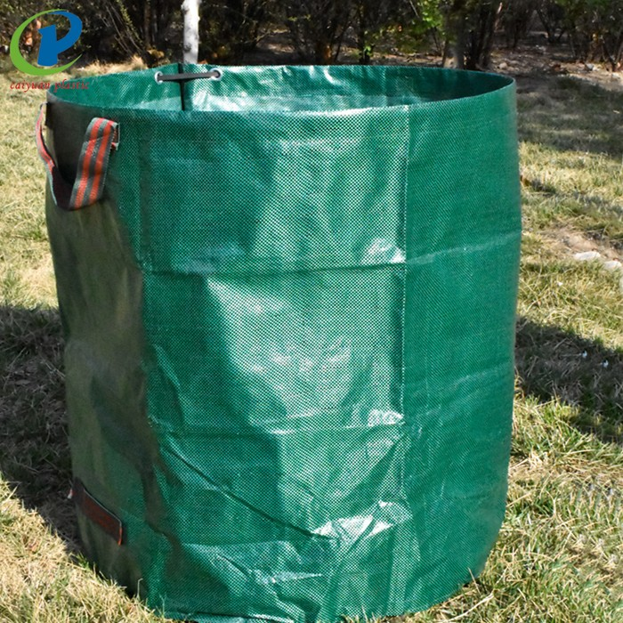 Collapsible Jute Garden Planting Bag Vertical