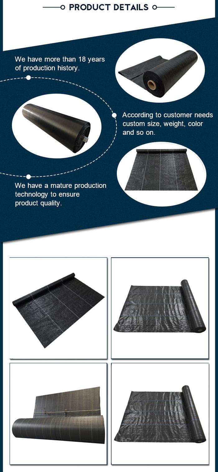 black plastic ground cover