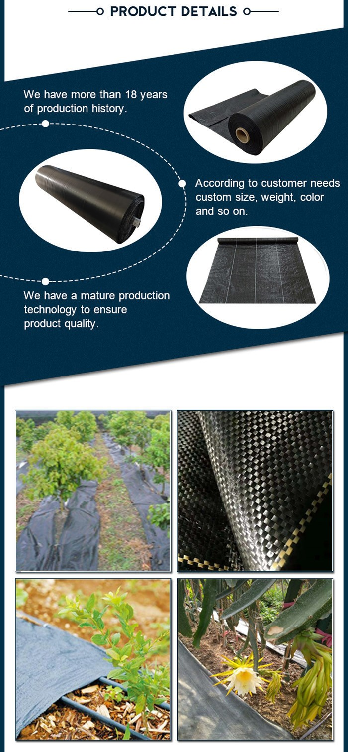 weed control fabric mat
