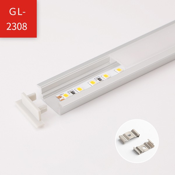 LED Strip Profile - Regular Recessed Mounted Series