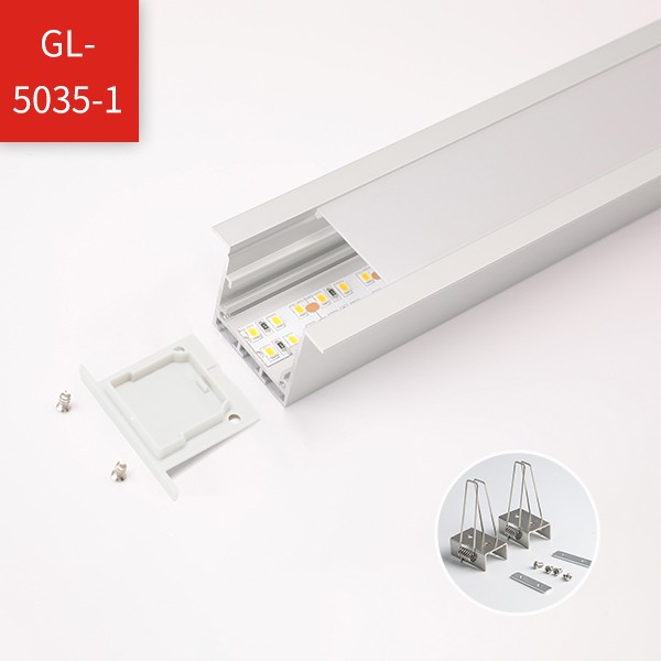 LED Strip Profile - Office Recessed Mounted Series