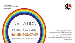 (27~30th, Oct, 2019) Invitation of Hong Kong International Lighting Fair