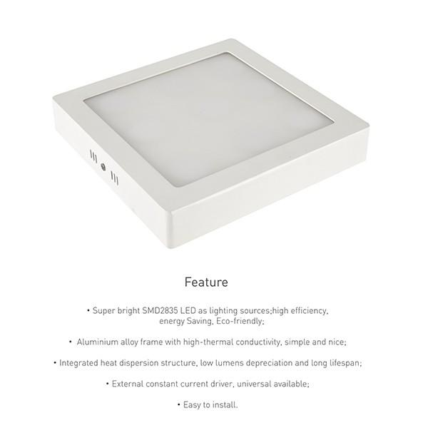 Slim Square Panel
