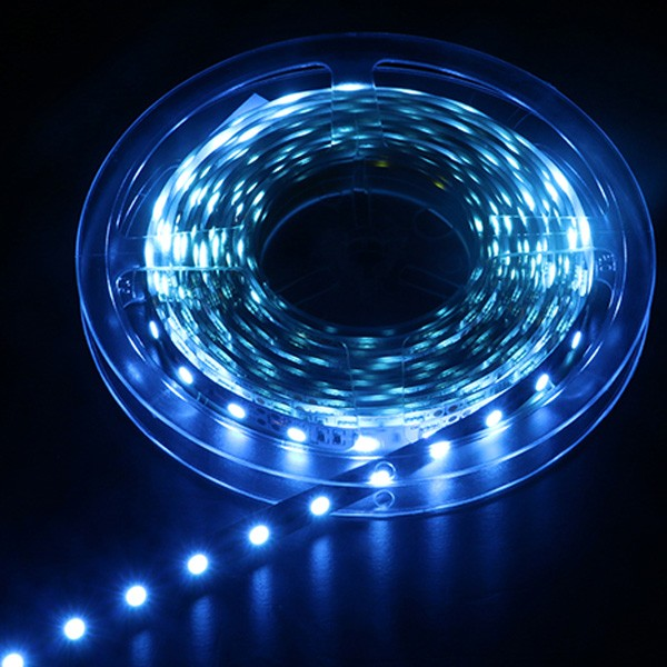 LED Flexible Strip - Colorful-Light Series - Red-Green-Blue-Yellow-Pink-Amber 3528 120LED 12V 8mm GL-12-F197