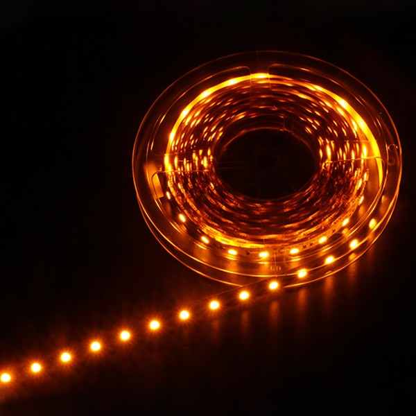 LED Flexible Strip - Colorful-Light Series - Red-Green-Blue-Yellow-Pink-Amber 3528 120LED 24V 8mm GL-24-F188