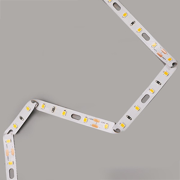 LEDフレキシブルストリップ-サインバックライトシリーズ-モジュールベンドホワイト2835 60LED 24V GL-24-FE76