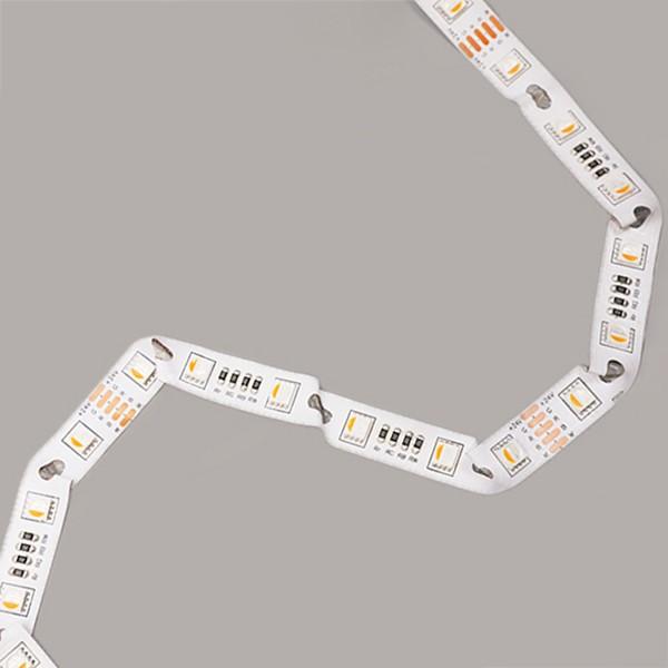 Jalur Fleksibel LED - Siri Lampu Belakang Tanda - Modul-Bend RGBW 5050 60LED 24V GL-24-FE78