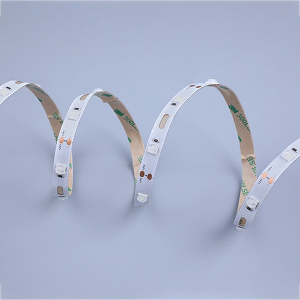 LEDフレキシブルストリップ-サインバックライトシリーズ-モジュールベンドホワイト160°ビーム角6060 28LED 24V GL-24-FG46