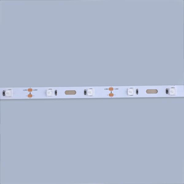 LEDフレキシブルストリップ-サインバックライトシリーズ-モジュールベンドホワイト160°ビーム角6060 48LED 24V GL-24-FG45
