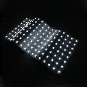 LED Flexible Strip - Sign Backlight Series - Light Sheet White 160° Beam Angle 6060 128LED 24V GL-24-FH09
