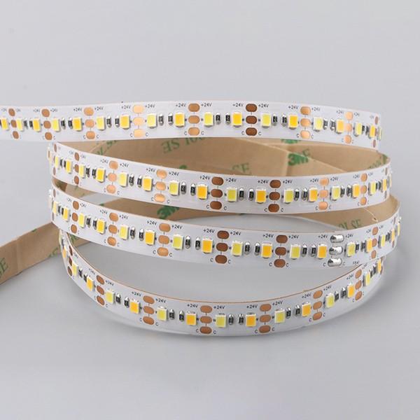 LED Flexible Strip - Short-Unit Cuttable Series - 2835 CCT 120LED 24V GL-24-F641