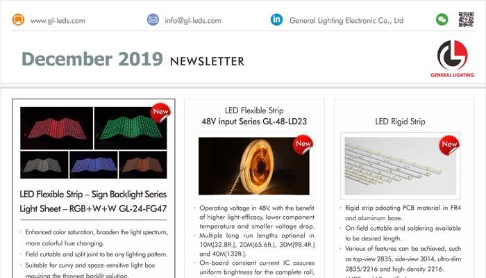(December, 2019) Newsletter