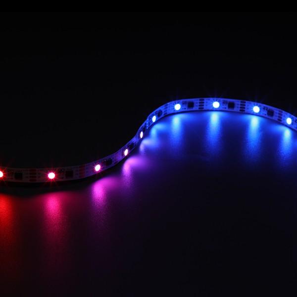 LEDフレキシブルストリップ-ピクセルコントロールシリーズ-5050 30LED RGB SPI 12V GL-12-LJ14