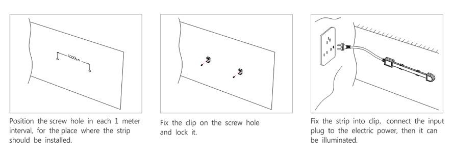 AC LED Flex Strip