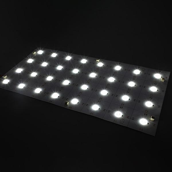 LED Flexible Strip - Sign Backlight Series - Light Sheet 180° 2835 32LED 24V - GL-24-FK48