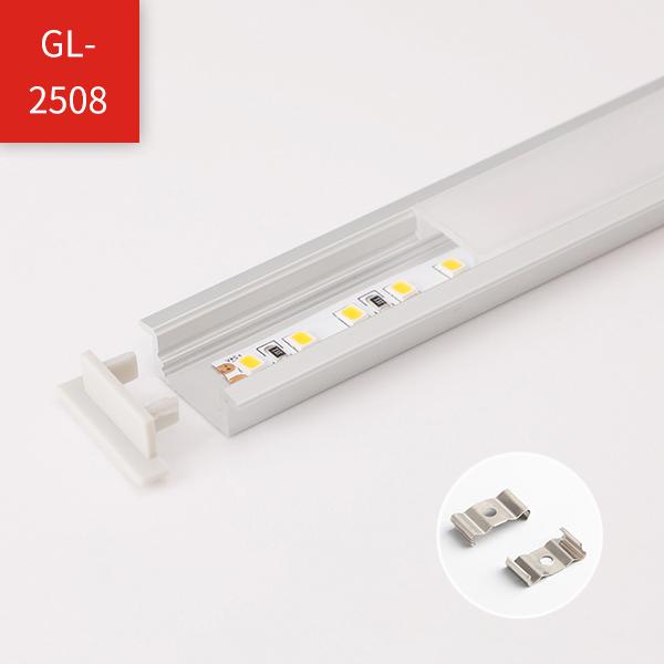 LED Strip Profile - Regular Recessed Mounted Series