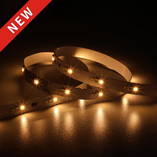 LED Flexible Strip - Ultra-Long Series - 5050/2835 117LED RGB+W+W 10/15/20M 48V GL-48-LN25