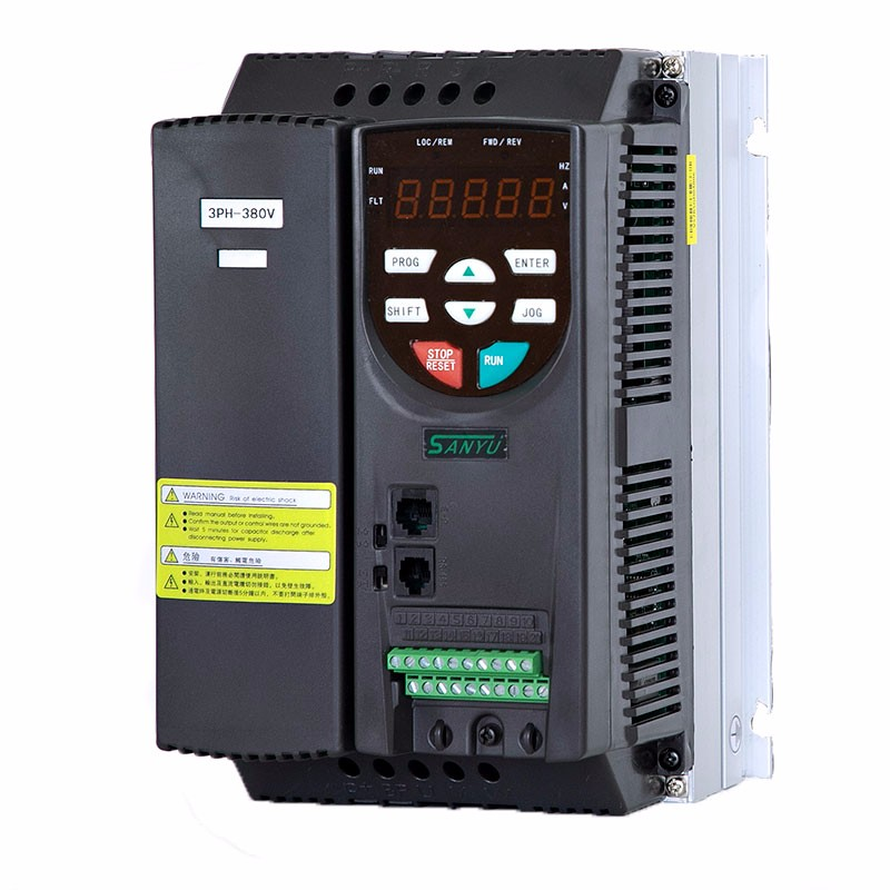 AC To AC Motor Inverter Adjustable Frequency Drive