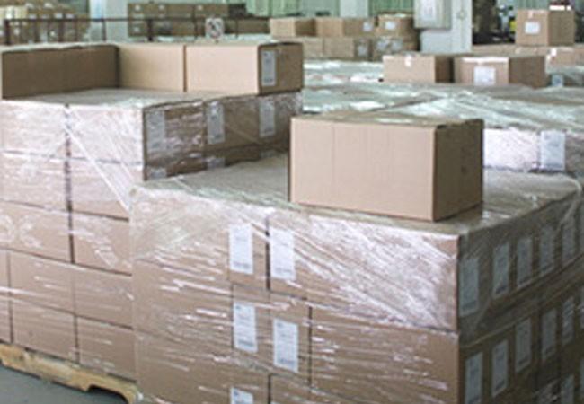 Finished goods warehouse
