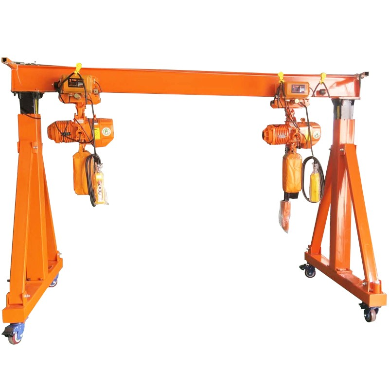 Electric Portable Gantry Crane Price, China home gantry crane, mini portable gantry crane Brands