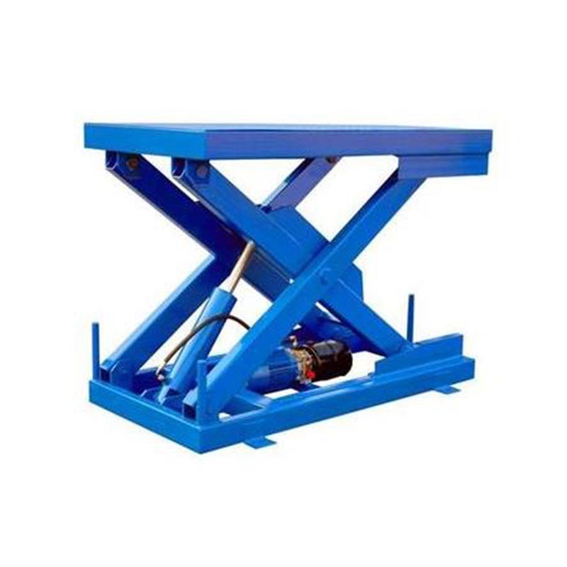 Stationary Scissor Lifting Platform