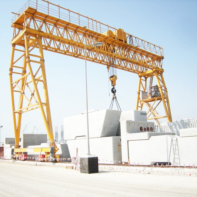 Truss Girder Gantry Crane Factory, single girder bridge crane Price, China single girder gantry crane