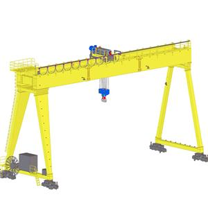 European Double Girder Gantry Crane