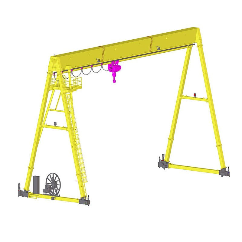European Single Girder Gantry Crane