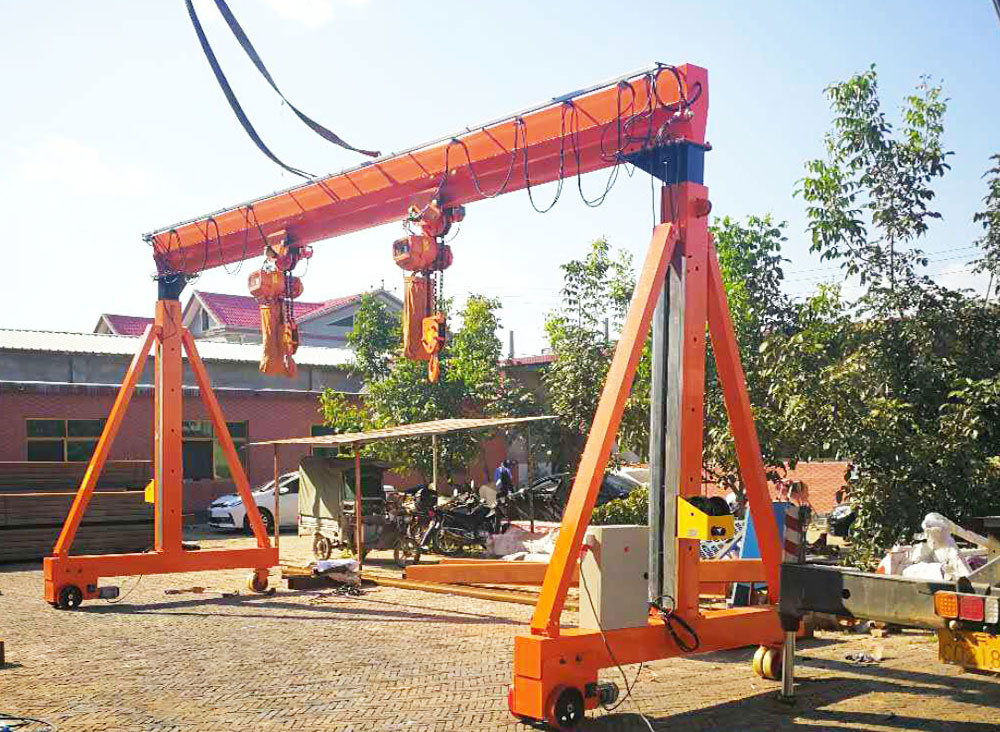 Electric Portable Gantry Crane Price