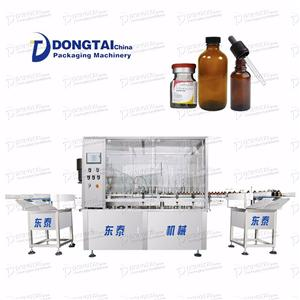 Automatic Small Bottle E-liquid Filling Machine