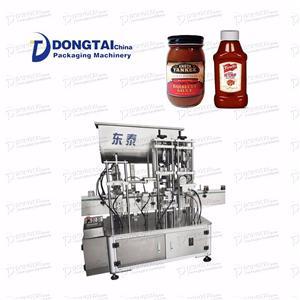 Automatic Tomato Sauce Filling Machine