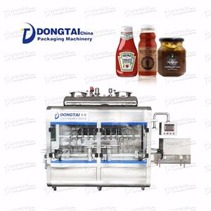 Automatic Ketchup Sauce Filling Machine