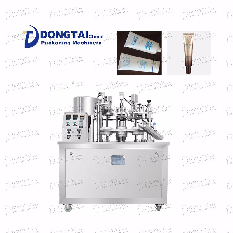Semi-automatic Hose Filling And Sealing Machine