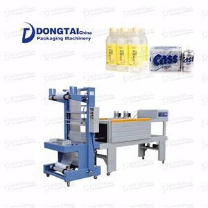 자동 플라스틱 병 수축 포장 포장 기계