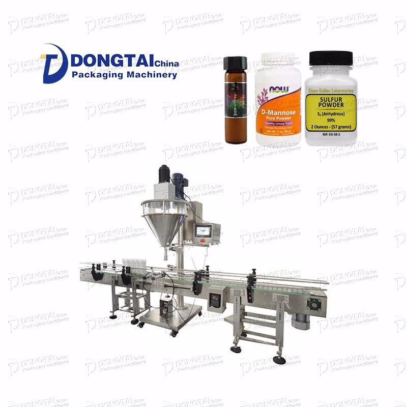 CE Standard Small Bottle Powder Filling Machine