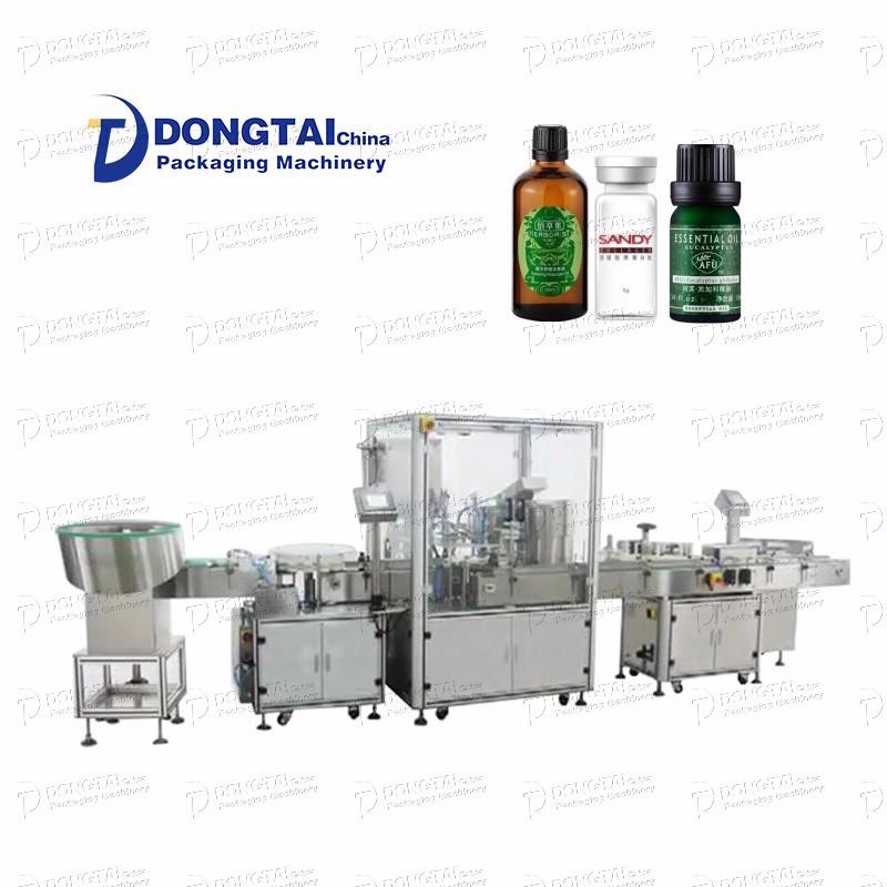 Automatic Small Perfume Cosmetic Bottle Filling Machine