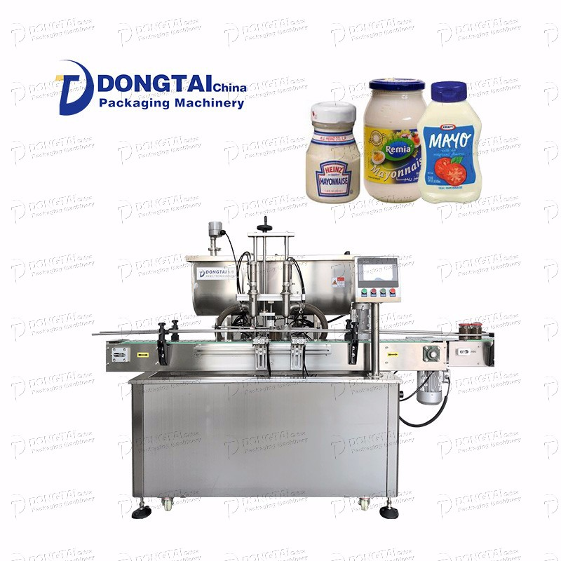 Automatic Bottle Mayonnaise Filling Machine
