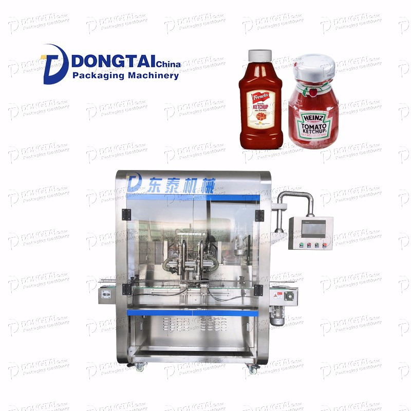 Tomato Sauce Thick Sticky Filling Machine