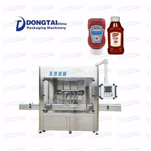Aseptic Piston Automatic Sauce Liquid Filling Machines
