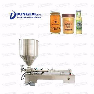 Semi-auto Paste Filling Machine With Heater And Mixer