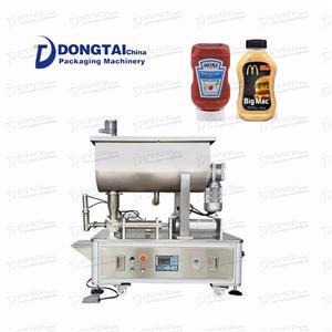 Semi-automatic Ketchup Sauce Filling Machine