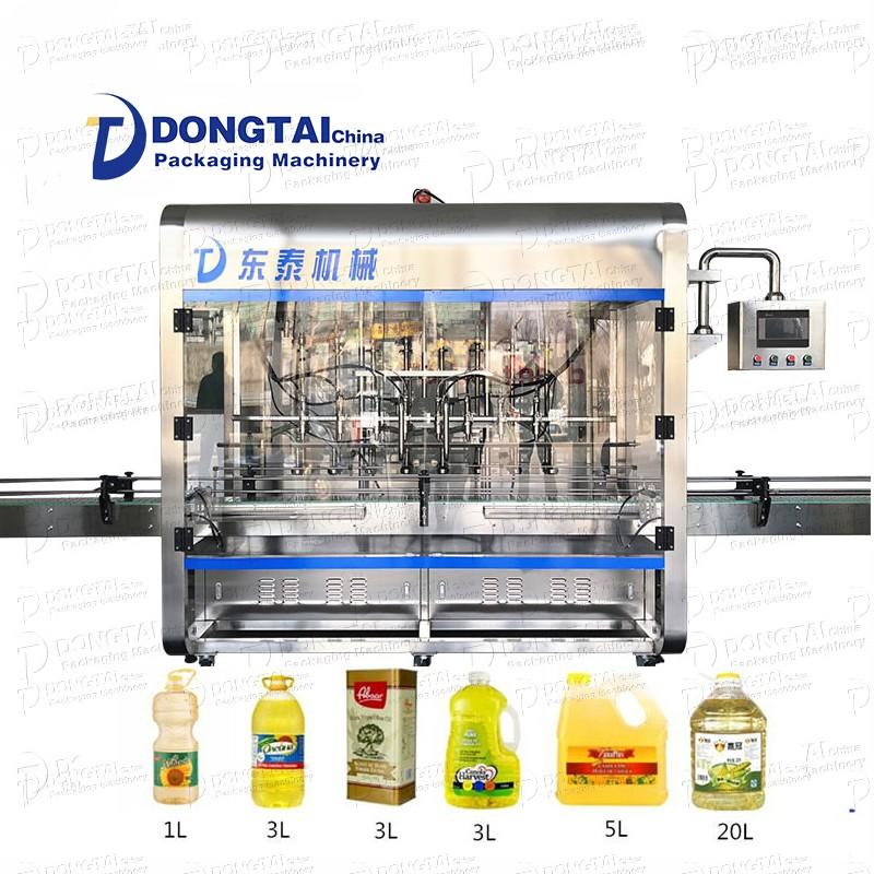 Macchina automatica per il riempimento di olio d'oliva / olio commestibile / da cucina / piccolo olio