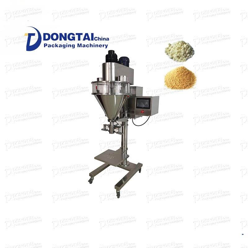 Riempitrice semiautomatica di pesatura detersivo / caffè in polvere